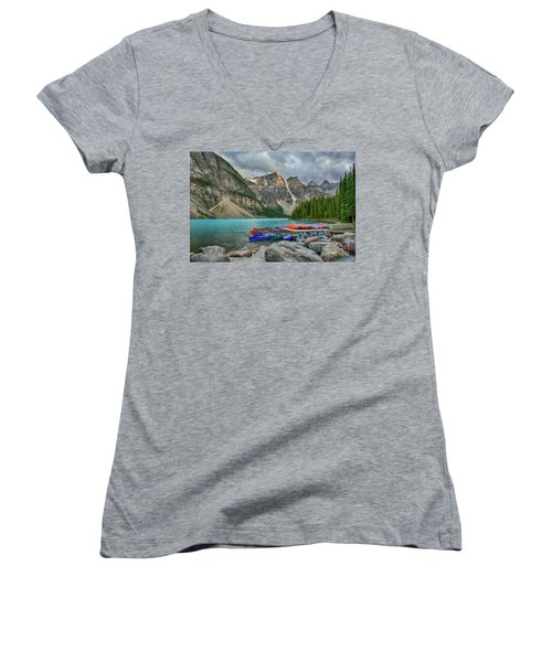 Moraine Lake Women's V-Neck