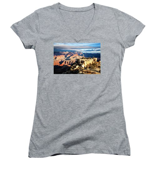 Moran Point 2 Women's V-Neck