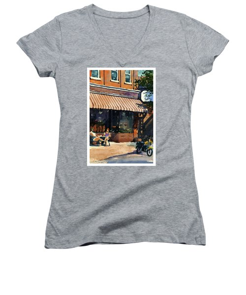 Morning Cuppa Joe Women's V-Neck