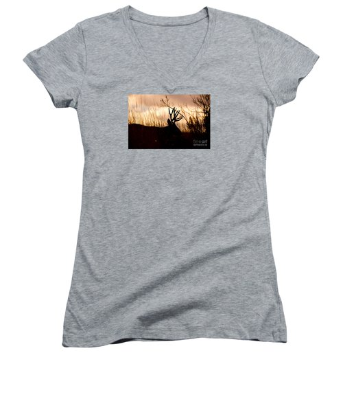 Morning Glow Women's V-Neck T-Shirt