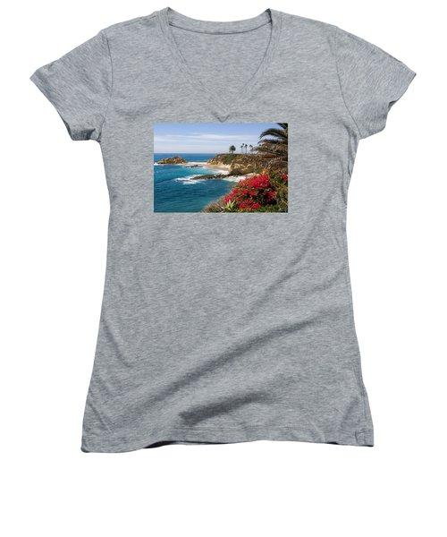 Morning Light Montage Resort Laguna Beach Women's V-Neck