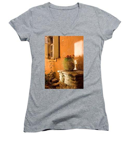 Morning Light Tuscany Women's V-Neck