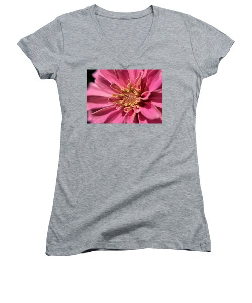 Morning Pink Women's V-Neck