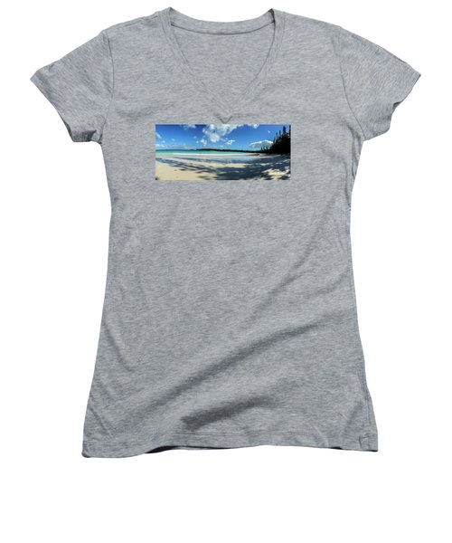 Morning Shadows Ile Des Pins Women's V-Neck