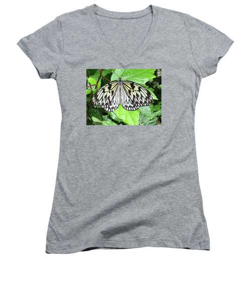 Mosaic Wing Spread Women's V-Neck