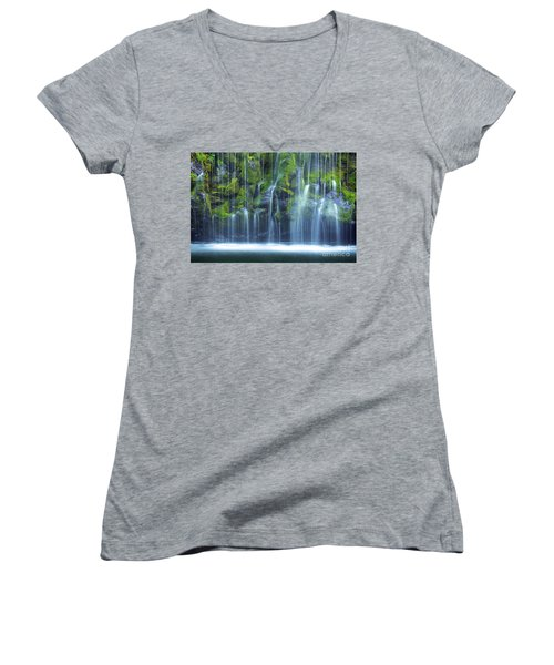 Mossbrae Falls - 05 Women's V-Neck (Athletic Fit)
