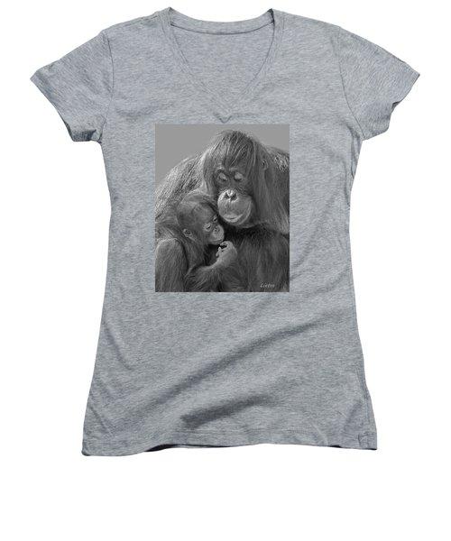 Motherhood 10 Women's V-Neck T-Shirt