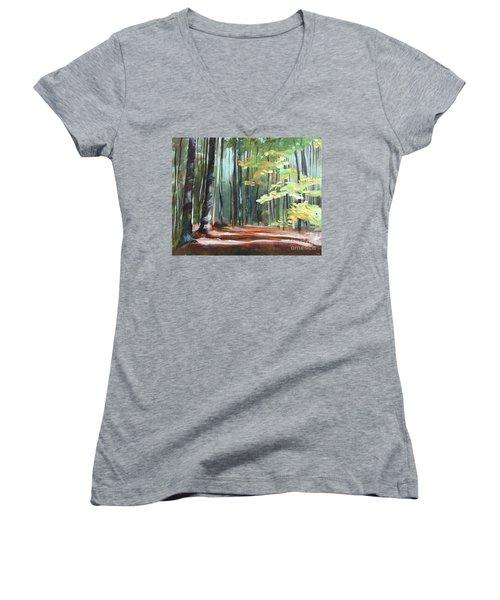 Mother's Day Gift Women's V-Neck T-Shirt