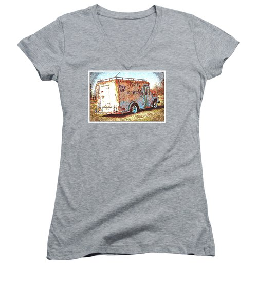 Motor City Pop #19 Women's V-Neck