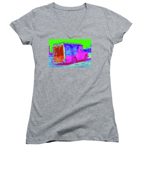 Motor City Pop #20 Women's V-Neck