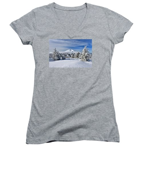 Mount Bachelor Winter Women's V-Neck