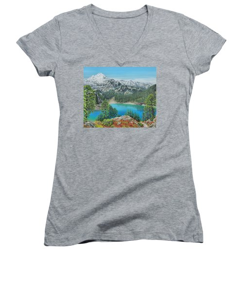 Mount Baker Wilderness Women's V-Neck