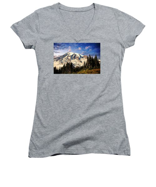 Mount Ranier Women's V-Neck