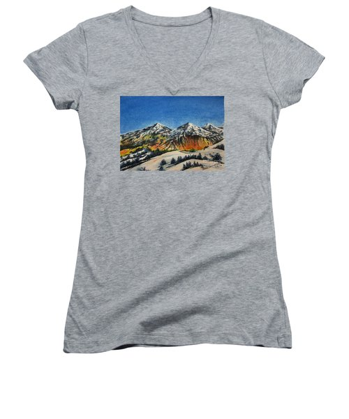 Mountain-5 Women's V-Neck