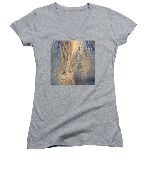 Mountain Abstract 3 Women's V-Neck