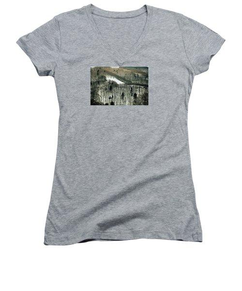 Mountain Forest Women's V-Neck T-Shirt