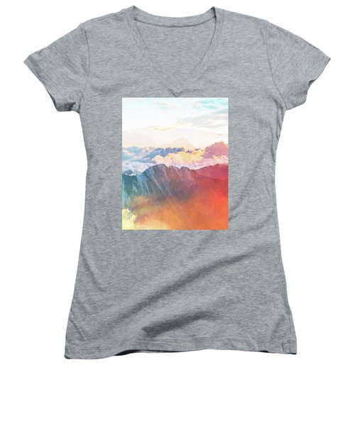 Mountain Glory Women's V-Neck T-Shirt