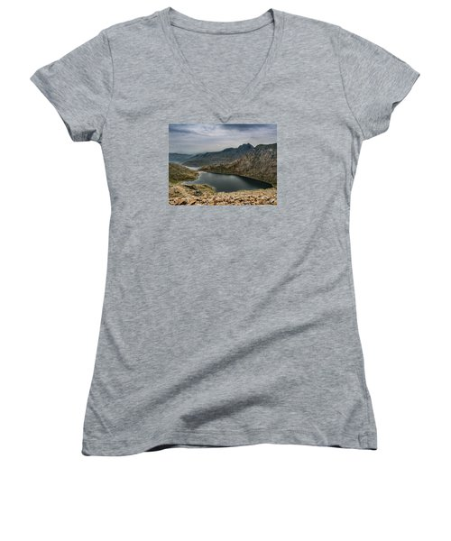 Mountain Hike Women's V-Neck (Athletic Fit)