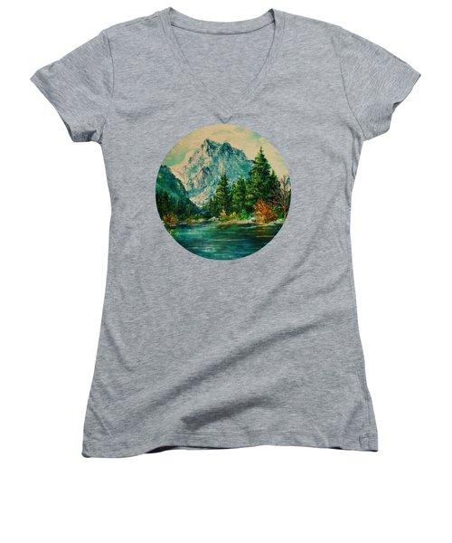 Mountain Lake Women's V-Neck