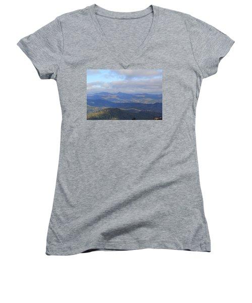 Mountain Landscape 3 Women's V-Neck