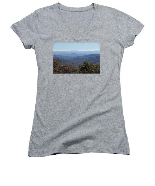 Mountain Landscape 4 Women's V-Neck