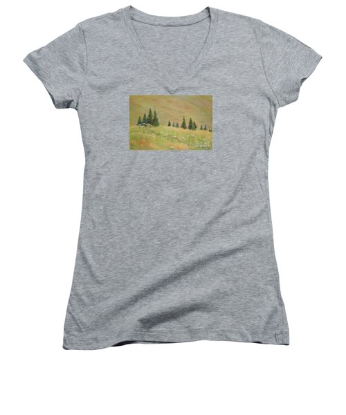 Mountain Meadow Women's V-Neck
