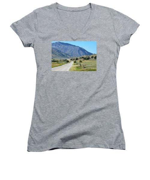 Mountain  Women's V-Neck