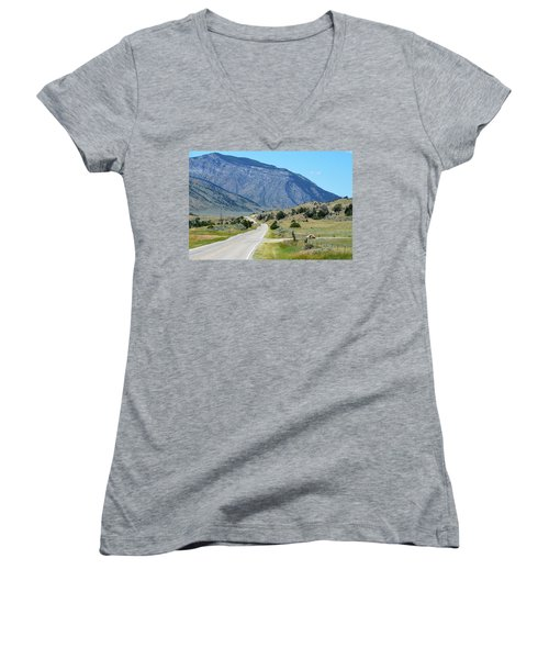Mountain  Women's V-Neck