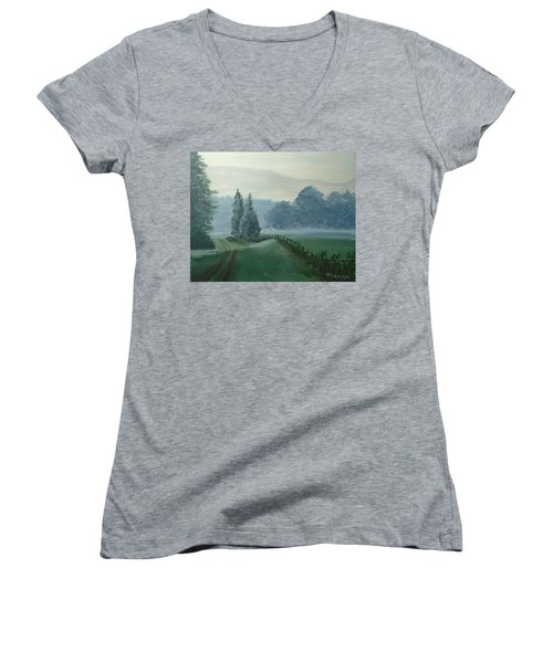 Mountain Mist Women's V-Neck T-Shirt