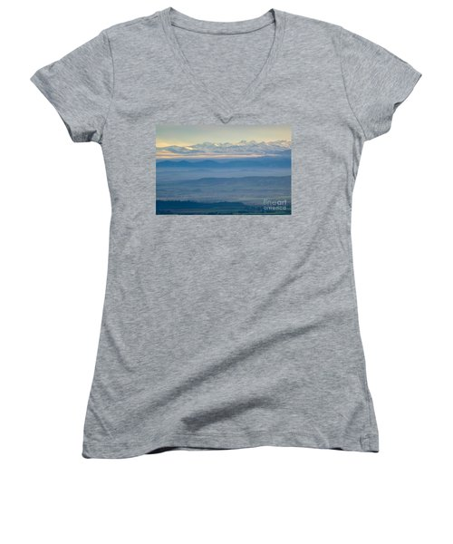 Mountain Scenery 11 Women's V-Neck