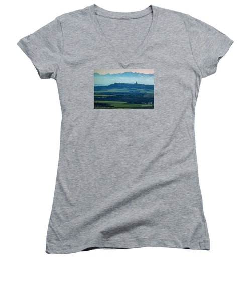 Mountain Scenery 4 Women's V-Neck