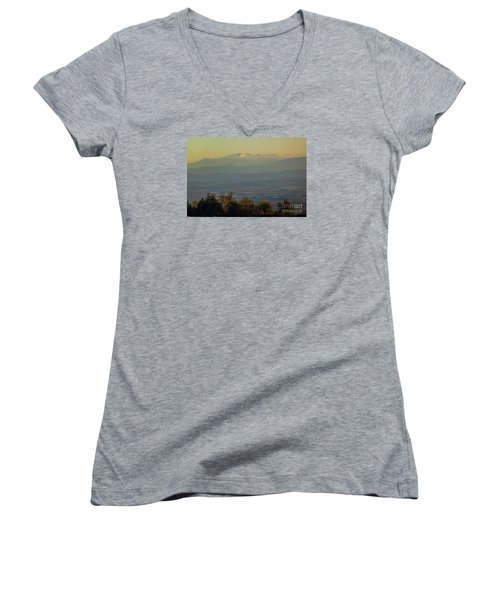 Mountain Scenery 8 Women's V-Neck