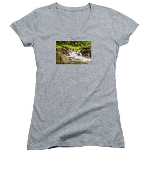 Mountain Stream Women's V-Neck