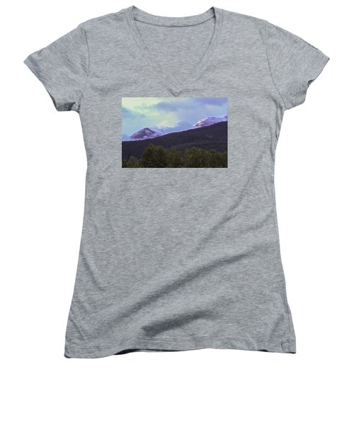 Mountain Top Women's V-Neck (Athletic Fit)