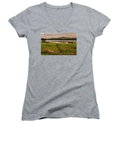 Mountain Trail Women's V-Neck T-Shirt