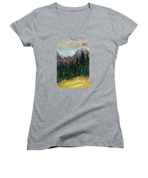 Mountain Vista Women's V-Neck (Athletic Fit)