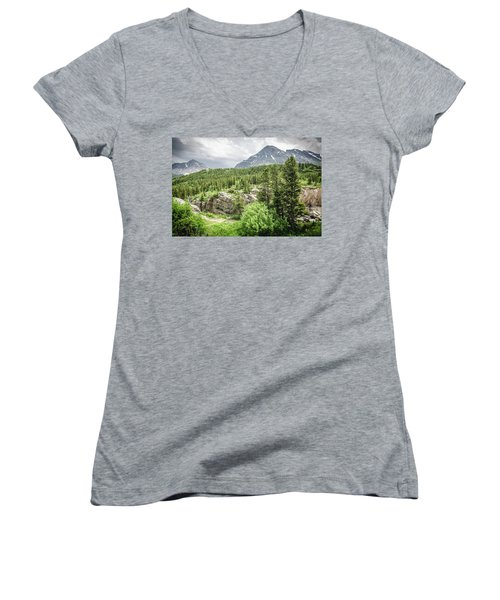Mountain Vistas Women's V-Neck (Athletic Fit)