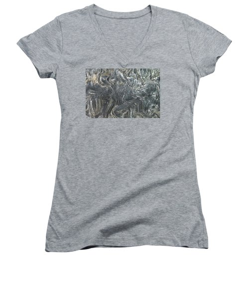 Movement In The Earth Women's V-Neck