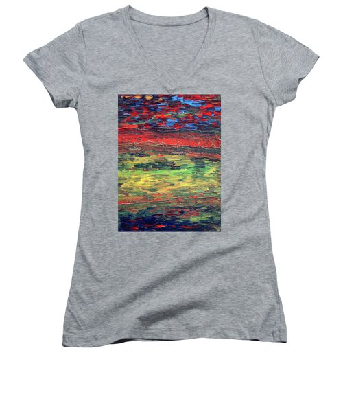 Moving Forward Women's V-Neck