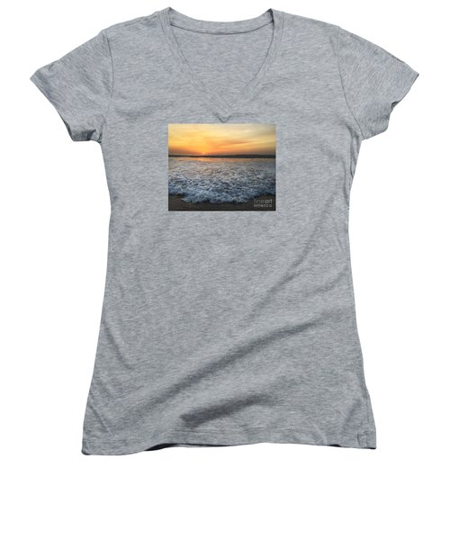 Moving In Women's V-Neck T-Shirt (Junior Cut) by LeeAnn Kendall