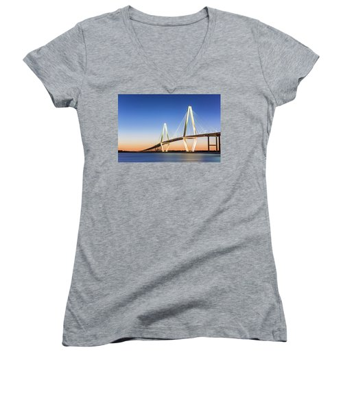 Moving Yet Still Women's V-Neck T-Shirt