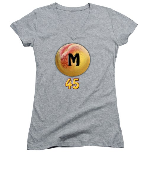 Mpeach 45 Women's V-Neck (Athletic Fit)