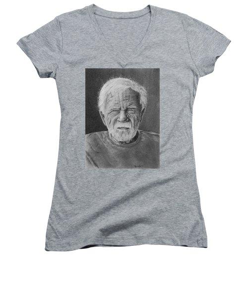 Mr. Hook Women's V-Neck T-Shirt