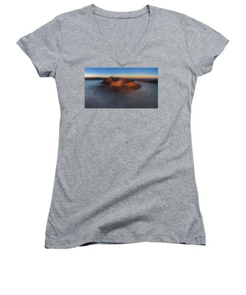 Mt Bromo Sunrise Women's V-Neck