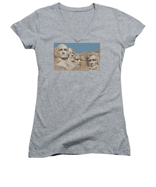 Mt. Rushmore Women's V-Neck