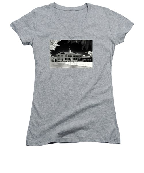 Mt Vernon Women's V-Neck T-Shirt