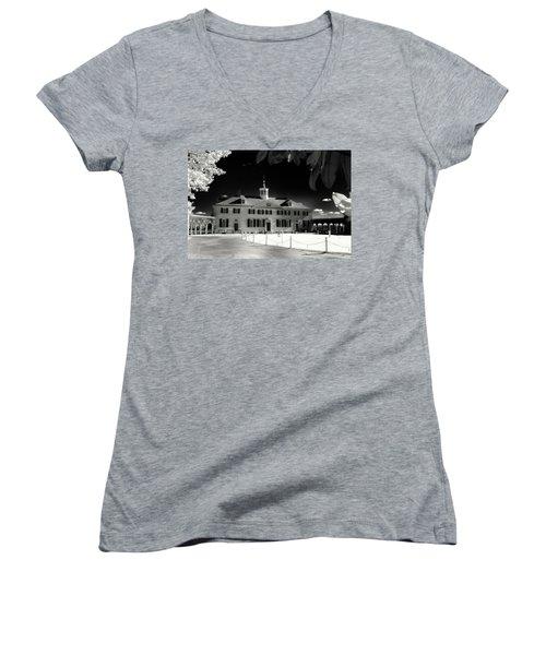 Mt Vernon Women's V-Neck T-Shirt