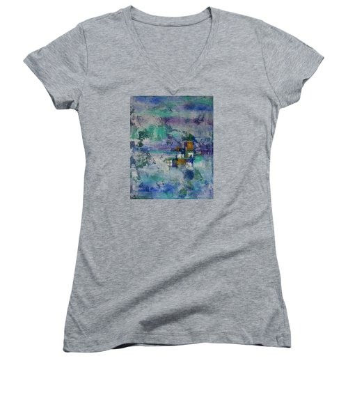 Multi-dimensional Portals Women's V-Neck T-Shirt