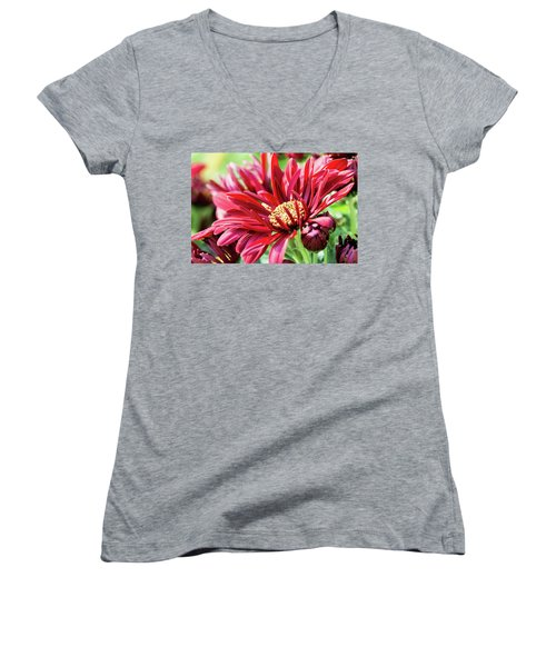 Mum's The Word IIi Women's V-Neck (Athletic Fit)