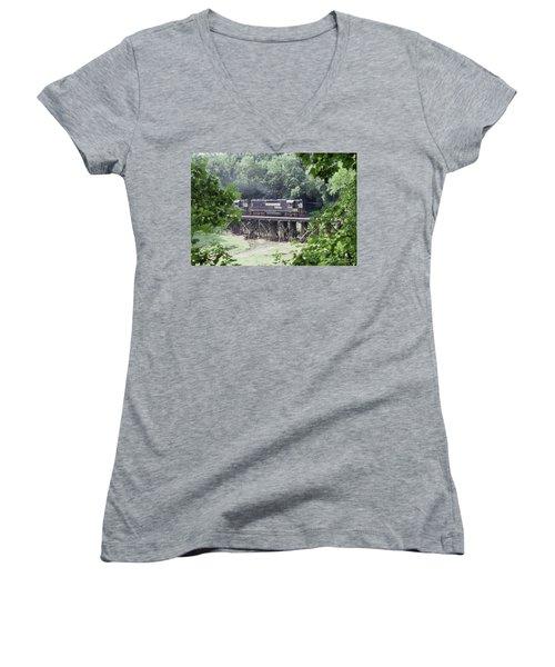 Murphy Branch Freight Women's V-Neck T-Shirt